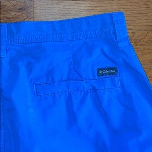 Blue Columbia Shorts